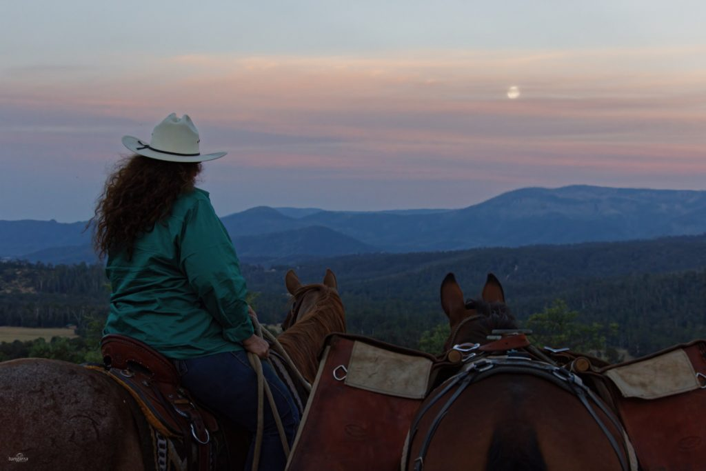 Full Moon Ride in the Mystic Mountains